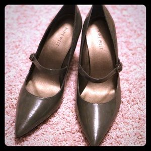 Nine West Patent Leather Mary Jane Pointed Pump